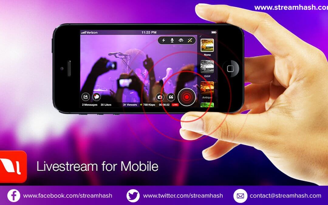 How to Live Stream Video Over the Internet Using StreamNow