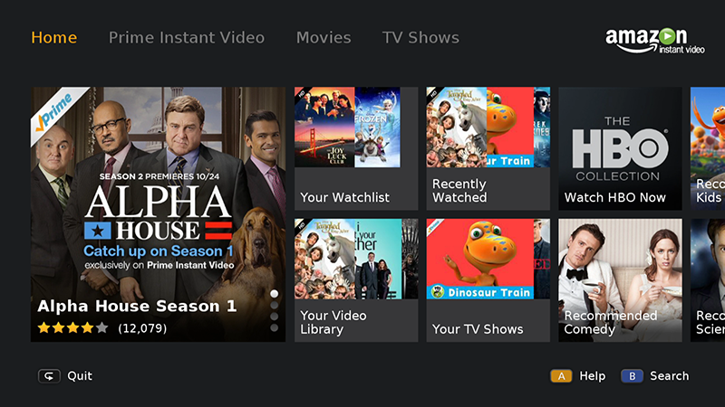Amazon Prime - Netflix Alternatives