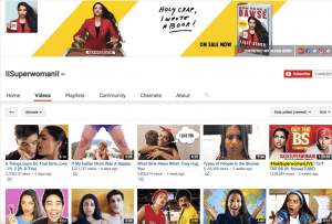 Lilly Singh Youtube Channel