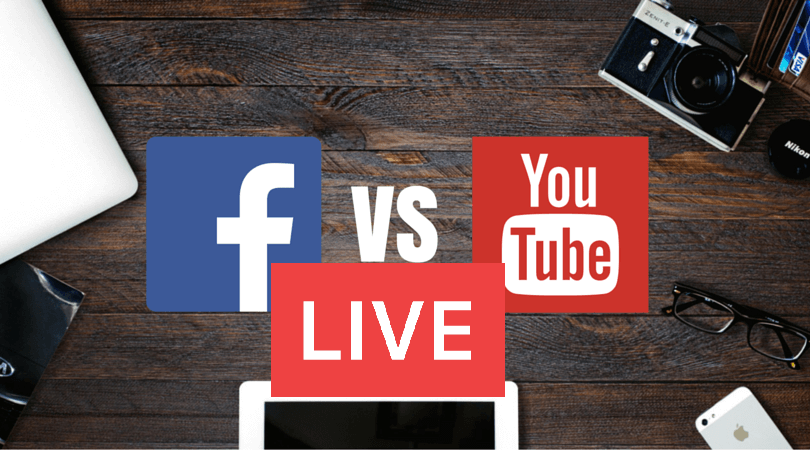 Youtube Live Streaming vs Facebook Live Streaming